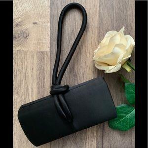 La Regale Black Evening Bag Clutch Wristlet